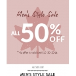 RoseGal: all 50% off men's style