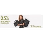 House of Fraser: up to 25% off new season handbags
