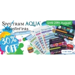 Crafters Companion: up to 30% off Spectrum Aqua products