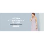 Little Mistress: 20% off all bridesmaid dresses