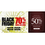 Black Friday Blue Inc: 70% off