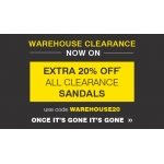 Moda in Pelle: Sale 20%  off all clearance sandals