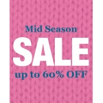 Woolovers: Mid Season Sale up to 60% off cashmere, wool and cotton knitwear, jumpers, cardigans and sweaters
