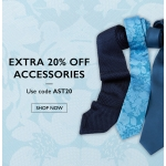 Moss Bros: 20% off accessories and ties