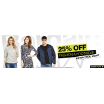 Bargain Crazy: 25% off fashion & footwear