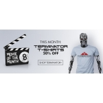 8Ball: 20% off terminator t-shirts