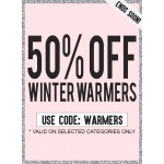 AX Paris: 50% off winter warmers