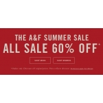 Abercrombie&Fitch: sale up to 60% off