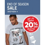 Ace: extra 20% off selected items from Sale