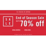 Aldo: season sale up to 70% off