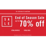 Aldo: End of Season Sale up to 70% off