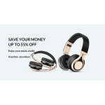 AliExpress: up to 55% off music products