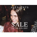 AllSaints: Sale up to 40% off women's and men's clothing & accessories