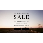 Allsaints: Extra 20% off for all Sale