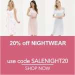 Ample Bosom: 20% off nightwear