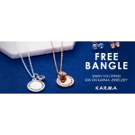 Argento: free bangle when you spend £35 on Karma jewellery