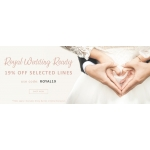 Argento: 19% off wedding jewellery