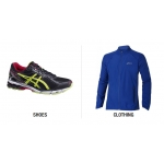 Asics Clearance: extra 20% off  clothing when you buy any pair of shoes