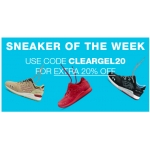 Asics Clearance: extra 20% off sneakers