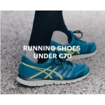Asics Clearance: running shoes under £70
