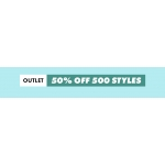 ASOS: Outlet 50% off women 500 styles