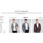 ASOS: 20% off men workwear