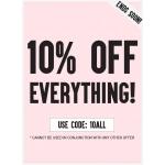 AX Paris: 10% off everything