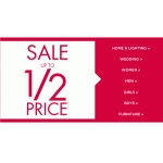 BHS: sale up to 50% off