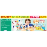 Baker Ross: 20% off toys and novelties