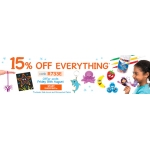 Baker Ross: 15% off everything