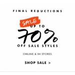 Banana Republic: sale up to 70% off
