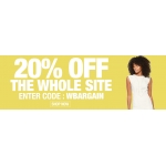 Bargain Crazy: 20% off everything