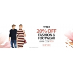 Bargain Crazy: 20% off fashion & footwear