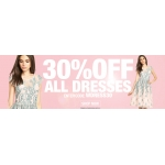 BananaShoes: 30% off all dresses