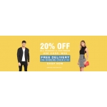 Bargain Crazy: 20% off all fashion & footwear