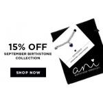 Bella Mia Boutique: 15% off september birthstone collection