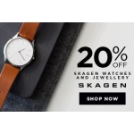 Bella Mia Boutique: 20% off Skagen watches and jewellery