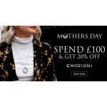 Bella Mia Boutique: spend £100 & get 20% off Emozioni jewellery