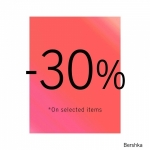 Bershka: 30% off discount