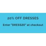 Blue Vanilla: 20% off dresses