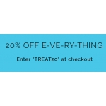 Blue Vanilla: 20% off everything