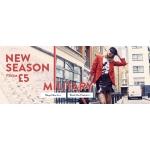 Boohoo: new season clothing from £5