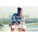 Boohoo: 50% off menswear