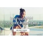 Boohoo: 50% off menswear