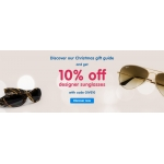 Boots Designer Sunglasses: 10% off designer sunglasses