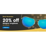 Black Friday Boots Designer Sunglasses: 20% off designer sunglasses