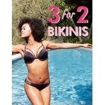 Boux Avenue: 3 bikinis for 2