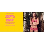 Boux Avenue: 20% off all lingerie, nightwear, swimwear and gifts