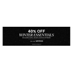 Brand Attic: 40% off winter esssentials