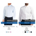 Burton: 2 mens formal shirts for £30